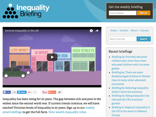 Inequality Briefing