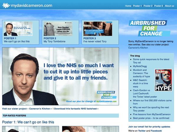 My David Cameron